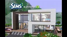 modern house plans sims 3 the sims 3 house designs modern villa youtube