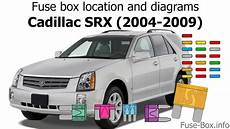 Fuse Box Location And Diagrams Cadillac Srx 2004 2009