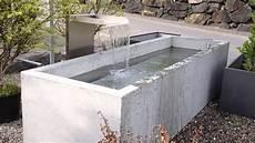 wassertrog aus beton selber machen brunnen conma