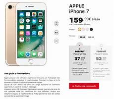 vente flash apple chez sfr iphone 7 iphone 7 plus et
