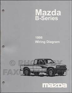 auto repair manual online 1998 mazda b series plus on board diagnostic system 1998 mazda b4000 b3000 b2500 pickup truck wiring diagram manual original 2 door