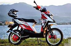Motor X Ride Modif by Modifikasi Motor Yamaha X Ride Trail Terbaru Modifikasi