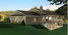 house plans ranch style with walkout basement ranch style bungalow with walkout basement a well laid