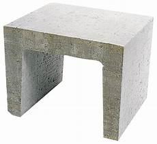 U Element Beton Grau 40 X 40 X 50 Cm