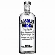 absolut vodka 1 litre vodka spirits
