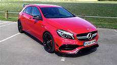 Mercedes Amg A45 - mercedes amg a45 2016 review two minute road test