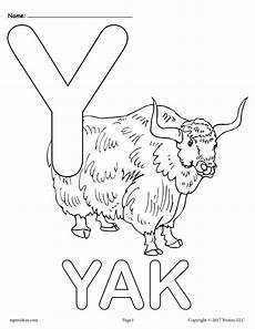 letter y coloring worksheets 24597 letter y alphabet coloring pages 3 free printable versions supplyme