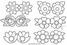 fiori da colorare per bambini maschere per bambini con fiori da colorare lavoretti