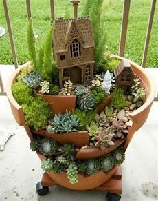 Deko Bastelideen Reizvollen Mini Garten Kreieren