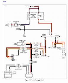harley heated grips wiring diagram heated grips troubleshooting harley davidson forums