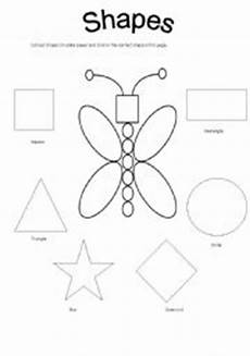 colors review worksheets 12802 15 best images of shape review worksheets for preschoolers coloring pages math shapes