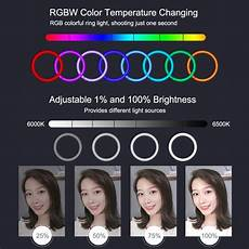 Puluz Pu411f Inches 6500k Rgbw Color by Puluz Pu411f 12 Inches 6500k Rgbw Color Dimmable Led Ring