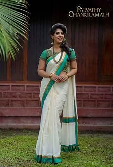 kerala style saree saree designs pin by maria on kerala saree designs indian fashion
