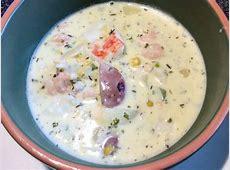 crab  shrimp    potato chowder_image