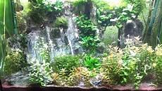 decoration cascade d eau waterfalls in aquarium