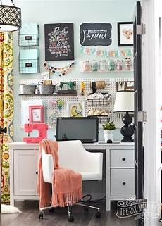colorful and organized craft room ideas the