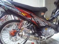 Modif Lu Led Supra X 125 by Kumpulan Modifikasi Lu Depan Motor Supra X 125 Terbaru