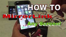 mirrorlink app for android how to add mirrorlink to any screen you want with apple or