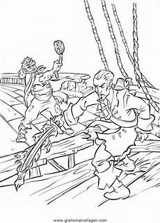 fluch der karibik18 gratis malvorlage in comic