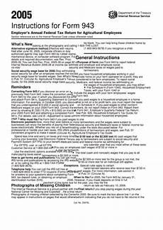 instructions for form 943 employer s annual federal tax return for agricultural employees