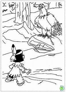 Ausmalbilder Yakari Yakari Coloring Page Dinokids Org