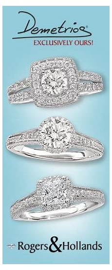 rogers and hollands engagement and wedding rings wedding
