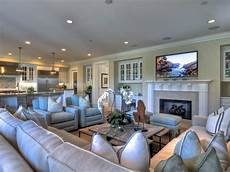 Ideas For Kitchen And Family Room by Coastal Decor Is Found In The Details In This Spacious
