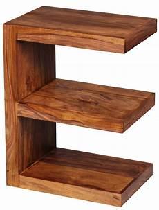 Tisch 60 Cm Hoch - wohnling beistelltisch mumbai massivholz sheesham quot e