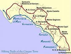 Cinque Terre Karte - 36 hours in cinque terre riomaggiore who go