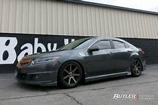 acura tsx with 17in niche verona wheels exclusively from