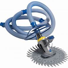 robot hydraulique piscine robot de piscine hydraulique 224 aspiration zodiac r3