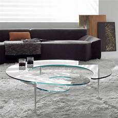 Table Basse Design En Verre Spirale Mobilier De Luxe