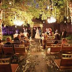 31 wedding ceremony space lighting ideas for outdoors weddingomania