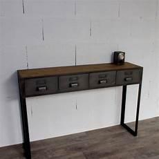 console style industriel console style industriel