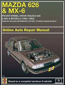 online auto repair manual 1994 mazda mx 5 instrument cluster 1988 mazda mx 6 haynes online repair manual select access ebay