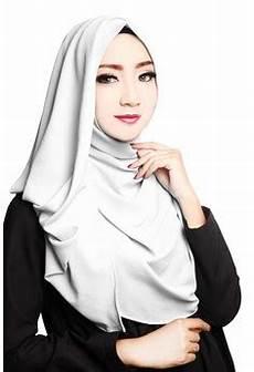 20 Jilbab Instan Warna Putih Terbaru Minggu Ini Jilbab