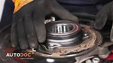how to replace rear wheel bearing mercedes c w204