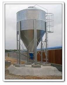 galvanized feed silo for poultry farm equipment from china manufacturer manufactory factory