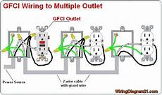 how to wire a gfci outlet diagram multiple gfci outlet wiring diagram gfci outlet wiring diagram pinterest outlets