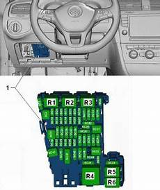 2013 vw golf r fuse diagram volkswagen golf mk7 2012 2018 fuse box diagram auto genius