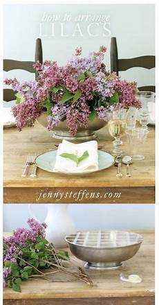 diy centerpiece how to arrange lilacs easy tips for