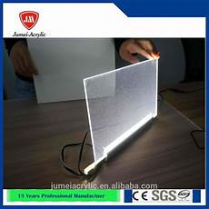 acrylic light box wall mounted crystal light sign portable led display picture frame led light