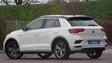 Volkswagen New T Roc R Line 2019 White 18 Inch