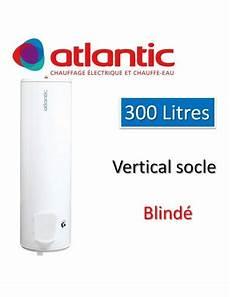 Chauffe Eau Atlantic 300 Litres Blind 233 Vertical Socle