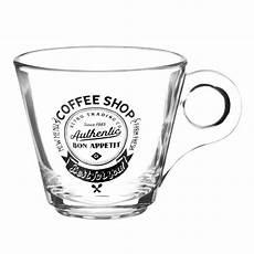 verre coffee tasse 224 caf 233 en verre coffee shop maisons du monde