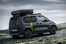 Peugeot Rifter 4x4 Adventure Concept Hiconsumption
