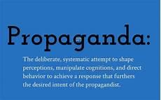 three types of propaganda by professor e