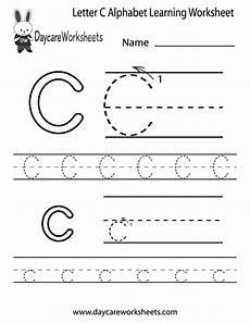 free printable letter a worksheets for pre k 23710 free letter c alphabet learning worksheet for preschool
