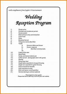 wedding program wedding ceremony order of events reception order of events ceremony programs wedding