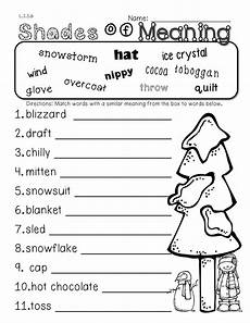 winter reading comprehension worksheets 3rd grade 20182 2nd grade common winter themed math ela pack 100 aligned grade language third